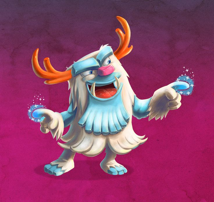 Larsson Portfolio - Yeti illustration test