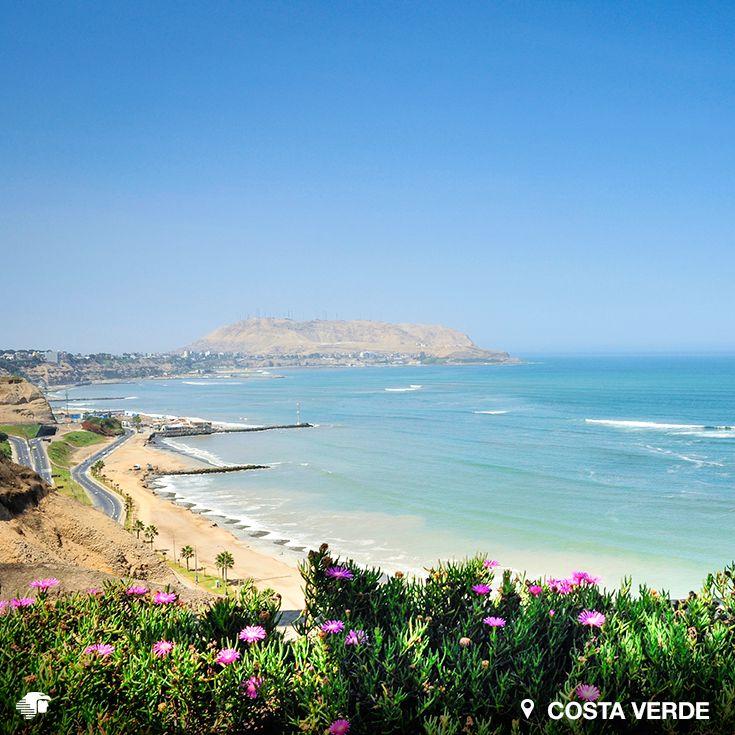 Costa Verde. Lima. Perú. Miraflores posee una franja litoral de aproximadamente 5 km que abarca 8 playas: Los delfines, La Pampilla, Pacífico Sur, Waikiki, Makaha, Redondo, La Estrella y Las Piedritas.