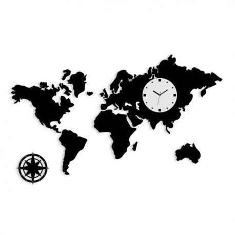 Zegar MAPA XXL - ModernClock - zegary z designem!