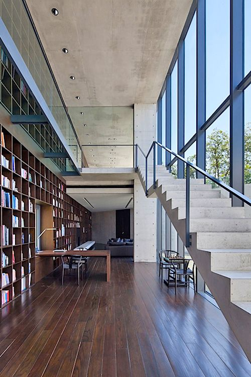 "thelavishsociety: ""House in Monterrey by Tadao Ando 