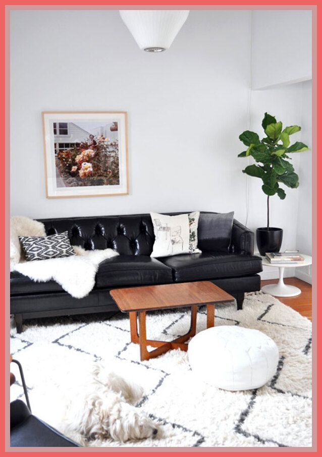 121 Reference Of White Sectional Couch Decorating Ideas In 2020 Leather Couches Living Room Black Leather Sofa Living Room Leather Sofa Living Room