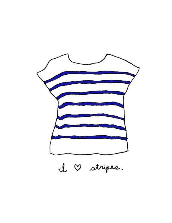 i heart stripes + mariner + breton
