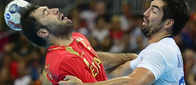 France won Spain in olympic games (score 23 - 22)