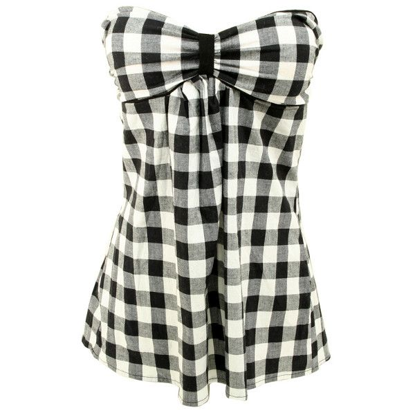 Sweetheart Buffalo Plaid Tube and other apparel, accessories and trends. Browse and shop 8 related looks.