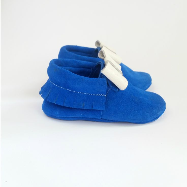 Moks baby leather moccasins