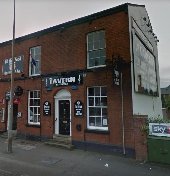 GHOSTLY goings on have been caught on camera in a town centre pub.