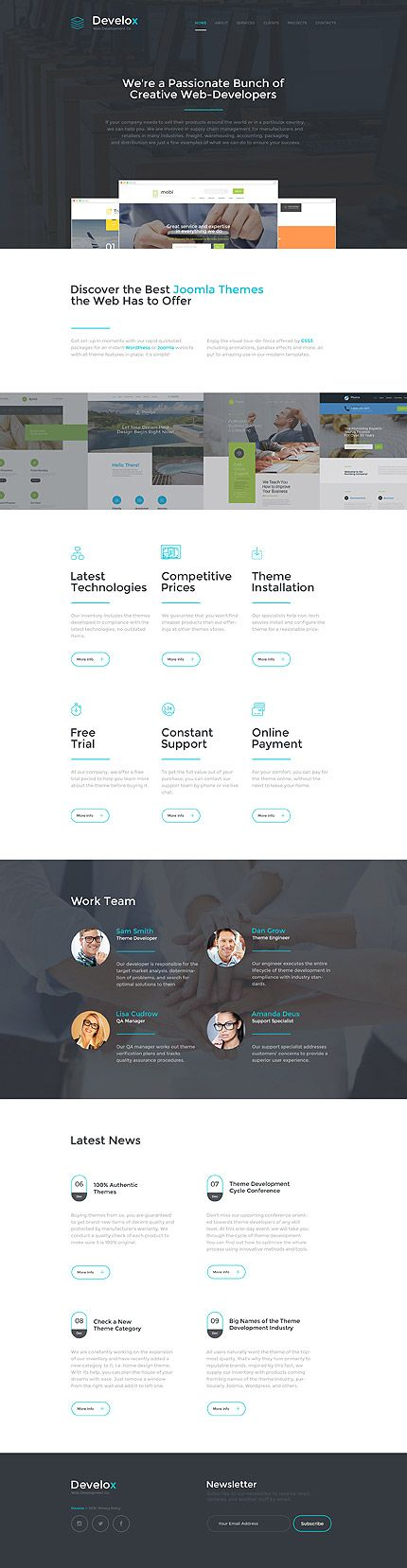 Software website inspirations at your coffee break? Browse for more Responsive JavaScript Animated #templates! // Regular price: $69 // Sources available: .HTML,  .PSD #Software #Responsive JavaScript Animated