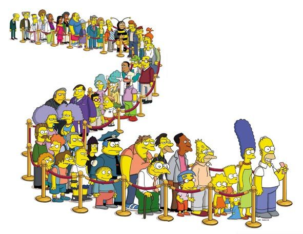 simpsons - Only minus, that I HATE Homer , he is an idiot and not a nice one!!