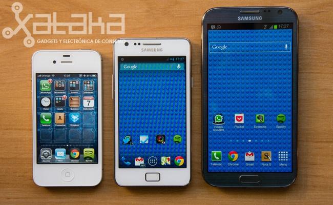 Samsung Galaxy Note II, un estudio comparativo (aunque con un teléfono cedido por Samsung)