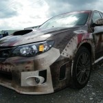 #Subaru #WRX #Zombie Escape Vehicle #CarWrap for Run For Your Lives 5K Obstacle Course