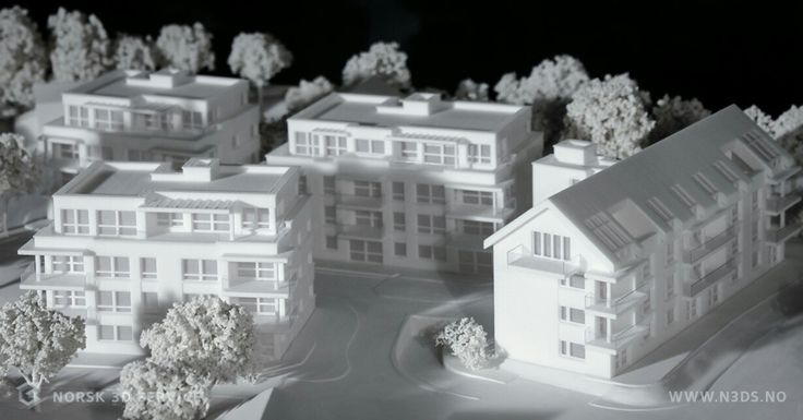 We decided to take 3dprinting of a model for a housing project