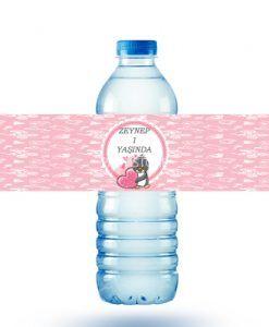 Doğum günü parti süslemeleri için kişiye özel tasarlanmış Penguen Teması Su Şişesi Sticker ürünümüzü online olarak uygun fiyatlar ile satın alabilirsiniz