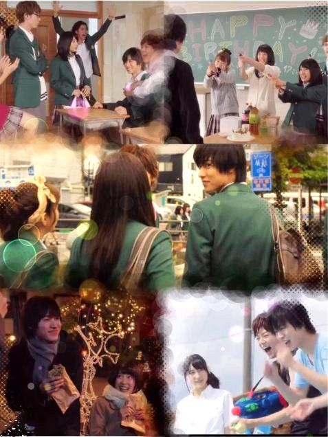 "[Trailer, long ver, Oct/14/15] https://www.youtube.com/watch?v=h3QXIv1xvNc&feature=youtu.be or [Official site, all trailers] http://www.orange-movie.com/news.html Kento Yamazaki x Tao Tsuchiya, J LA movie ""orange"", Release: 12/12/'15"