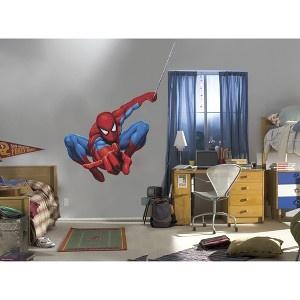 Fathead The Amazing Spiderman Wall Décor... I don't care if I'm a girl. I just want this in my house