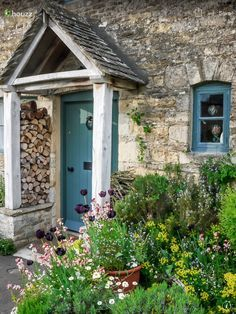 cotswold stone wooden porch - Google Search