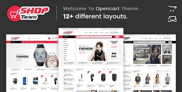 Shop Town - Multipurpose OpenCart Theme