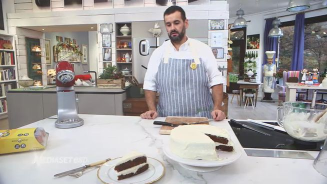 David de Jorge hace una 'carrot cake' siguiendo la receta original de 1830