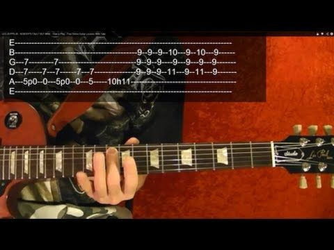 ▶ LED ZEPPELIN - HEARTBREAKER - Guitar Lesson With TABS - YouTube