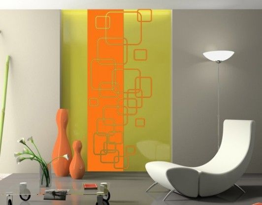 35 best Modern & Retro images on Pinterest | Wall decal, Wall tattoo ...