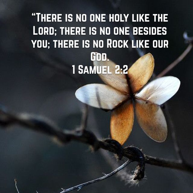 Jesus is our rock!