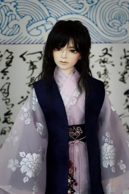 """BNB Doll-- """"White Tiger, Human version"""" LE-1 Company of Nornen, well-known S. Korean Faceup Artist. 65cm tall"""