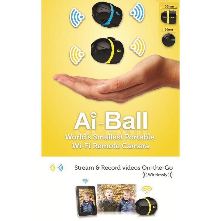 Wholesale-2014 Hot NEW AI Ball Mini Wifi Spy Cam IP Wireless Surveillance Camera DHL $67.02 | DHgate.com