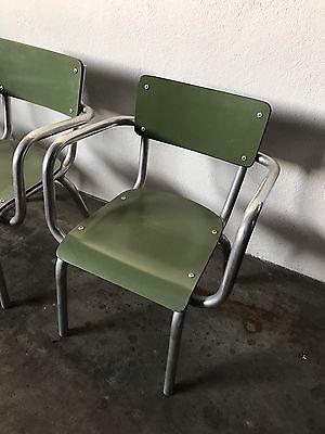 SEDIA SEGGIOLINA SCUOLA Formica Bambino Anni 1960 Arredo Vintage Asilo Design