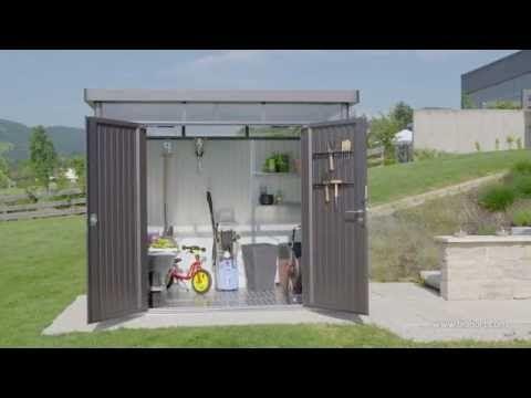 Metal Sheds, Biohort, Heavy Duty, Metal, Garden, Luxury, Storage, Secure, Sheds,Apex, Pent Roof, Highline