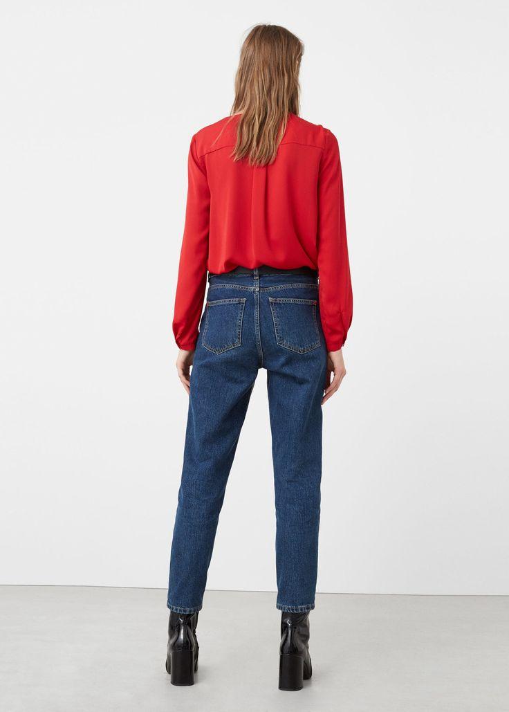Струящаяся блузка  - Рубашки - Женская   OUTLET Россия (Российская Федерация)
