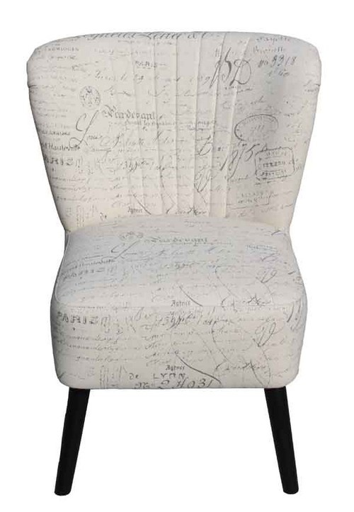 Mako Script Chair - one of the most interesting furniture pieces one will ever lay their eyes on. It has an almost winged back rest, curved inwards to accommodate people sitting on it very comfortably.
