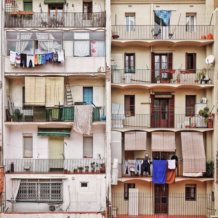 El Poble Sec. Barcelona. #BarcelonaFacades #Architecture #Barcelona