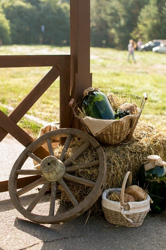 party decorations, country style,
