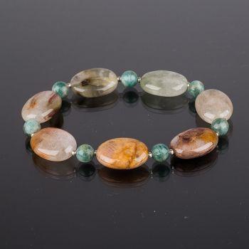 Яркие летние браслеты из натуральных камней!