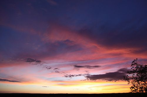 Namibie - sunset