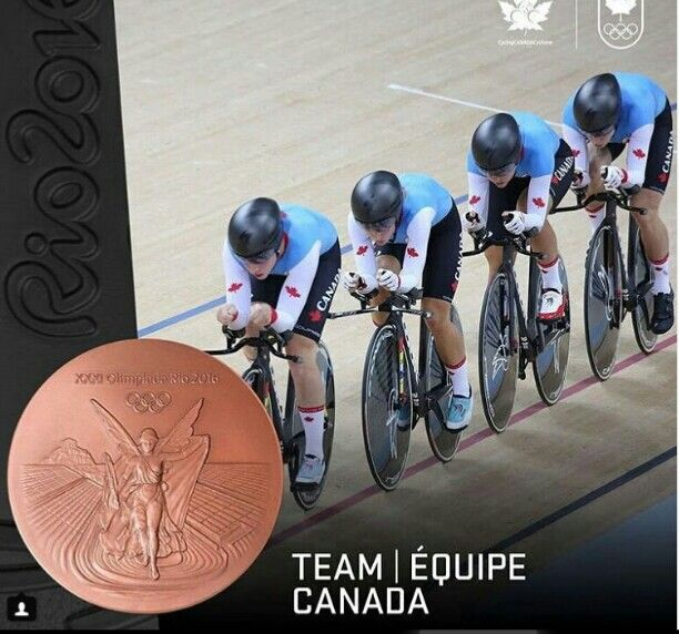 Bronze for Women's Team Pursuit.