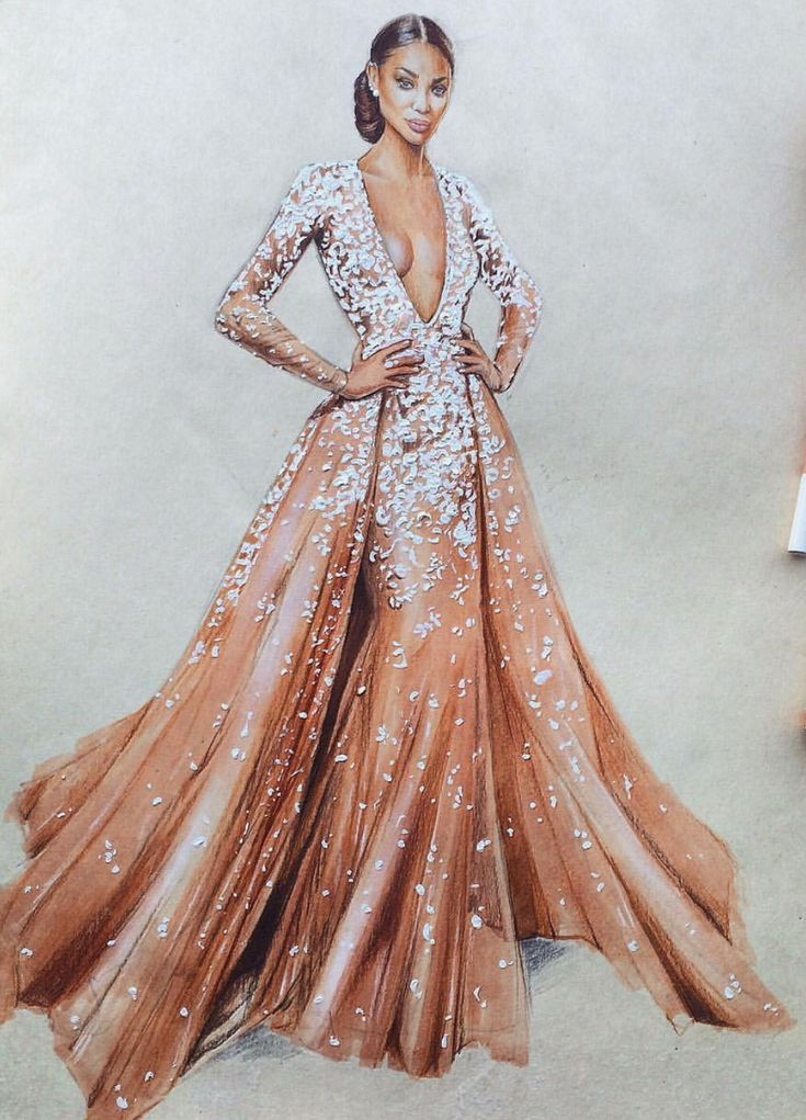 1000 ideas about fashion illustration dresses on