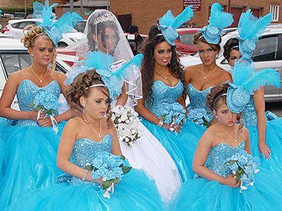 Colorful My Big Fat Gypsy Wedding Bridesmaid Dresses Image ...