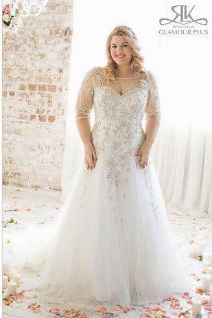 Acacia, Roz La Kelin Glamour Plus Collection | 31 Jaw-Dropping Plus-Size Wedding Dresses