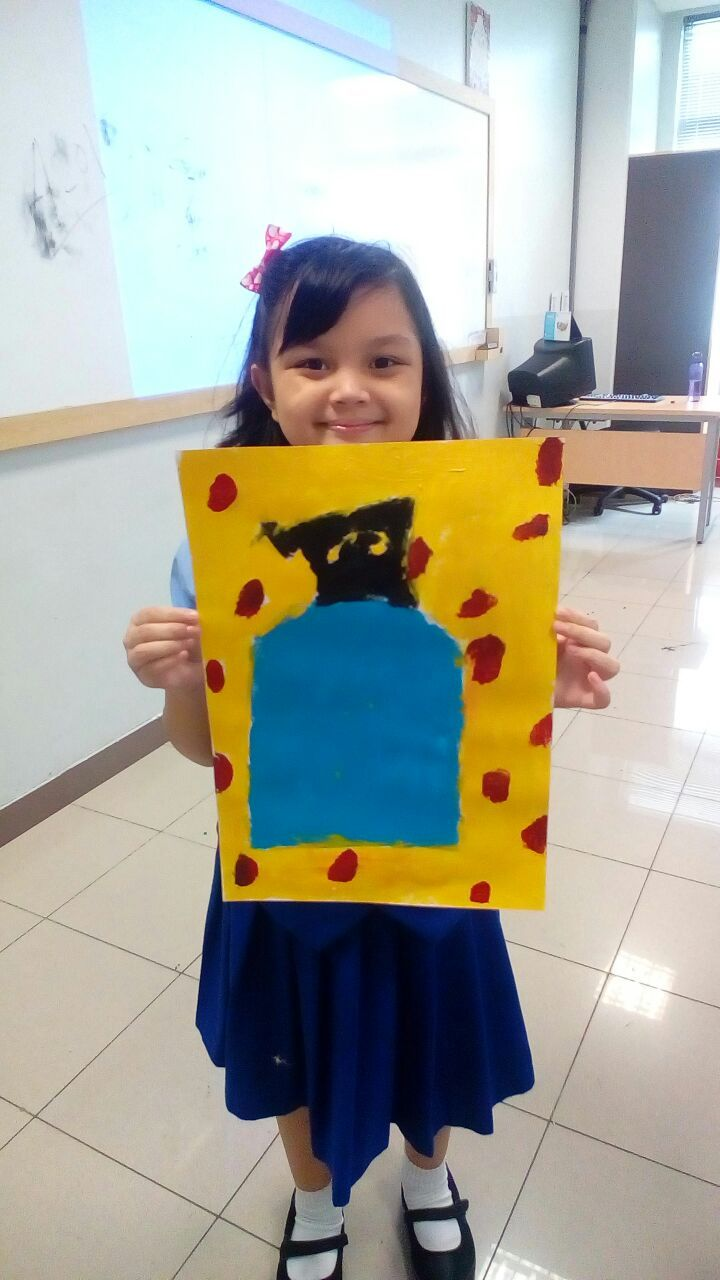 Alegra - Joan Miro - Roll a Miro Game @Binus International School Simprug