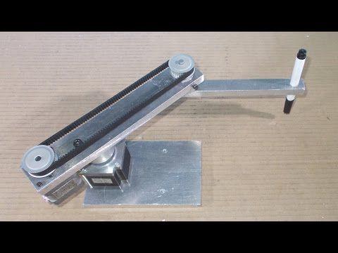 Homemade Scara Robot Arm DIY Robotic Frame Projects Laser 3D Printer Cha...