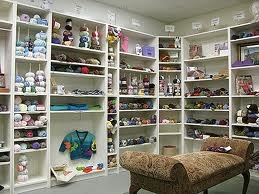 I really really need a Knitting and Crochet Workroom!