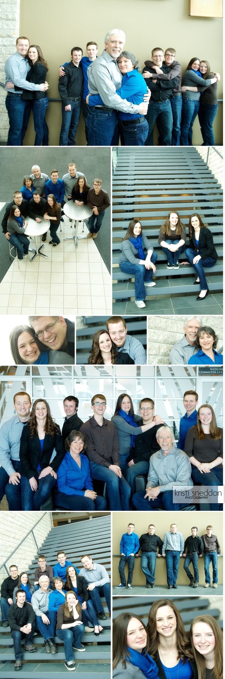 Big family group photography in #yyc by www.ksphotographer.com