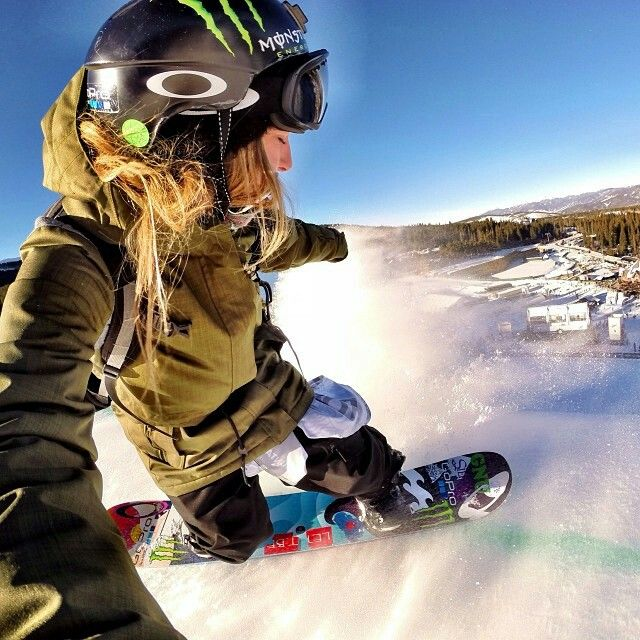 Nice selfie on a sunny day. #snowboarding #snowboard