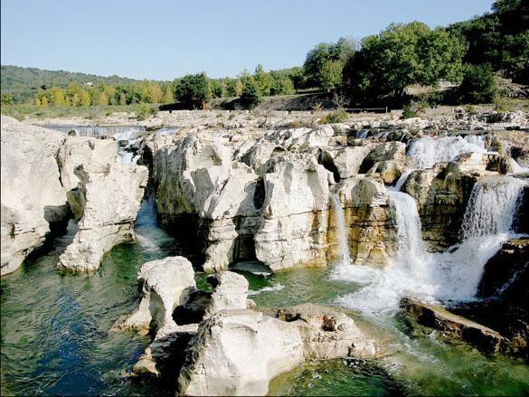 Cascades du Sautadet, Roques sur Ceze, Cevennes France