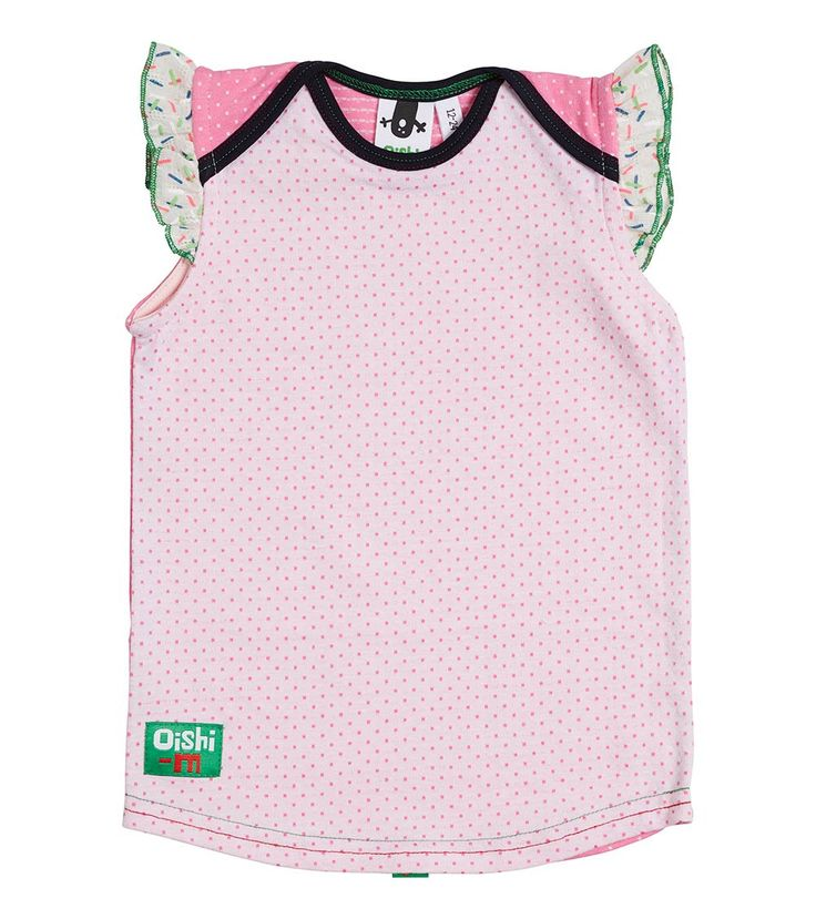 Shortcake Frilly Top, Oishi-m Clothing for Kids, Holiday 2017, www.oishi-m.com
