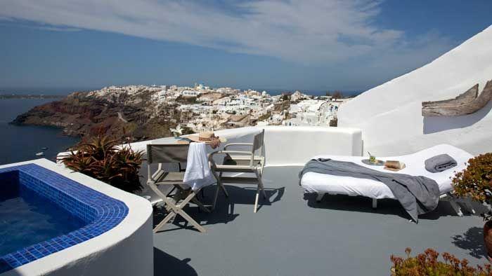 Ikies Traditional Houses | Oia | Santorini