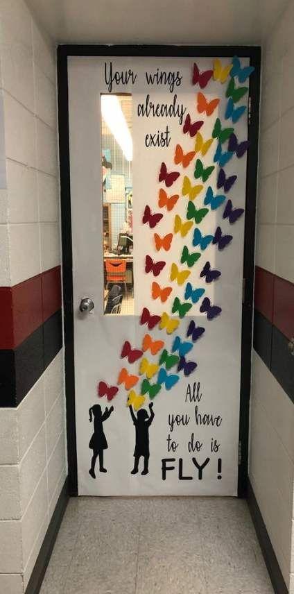 54 Trendy Ideas Classroom Door Decorations Butterflies