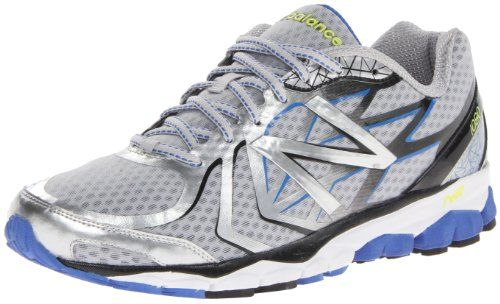 New Balance Men's M1080 Running Shoe,Silver/Blue,12 2E US. Weight: 10.2 oz (292g). N2 Burst forefoot response system. ABZORB Crash Pad in heel. No-sew upper. T-beam stability shank. Rubber sole. Origin: China. ACTEVA Lite midsole. Imported. 8mm heel-to-toe drop. Synthetic, Mesh.