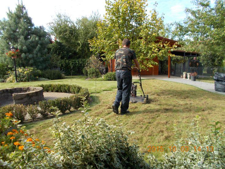 Gyepszellőztetés tavasszal és ősszel