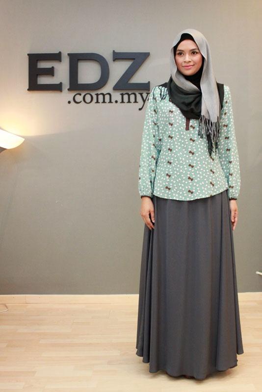 Basic Maxi Skirt - Syila   EDZ eightDesigns Malaysia's online shopping fashion blogspot   cardigan   shawl   tops   shoes